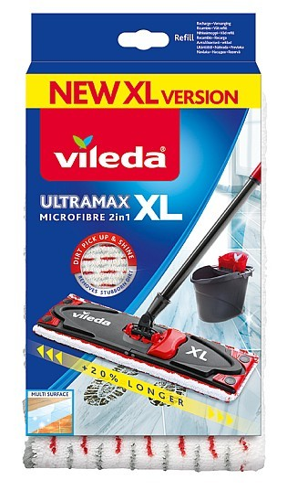 Ultramax XL mop náhrada Microfibre 2v1 VILEDA 160933