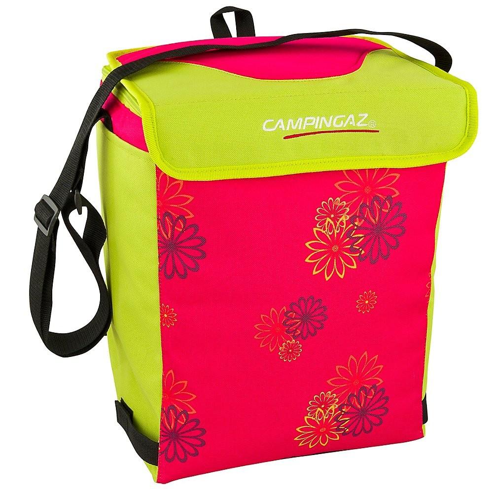 Chladicí taška MINIMAXI 19L Pink daisy (chladicí účinek 12 hodin)