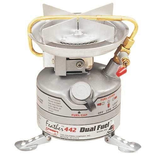 Vařič UNLEADED FEATHER STOVE (685 g/2500 W, bezolovnatý benzín) CAMPINGAZ 442-700E