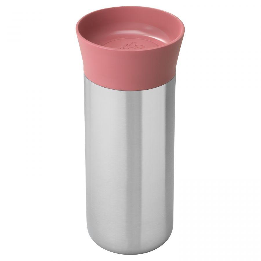 Termohrnek nerezový LEO 330 ml růžová