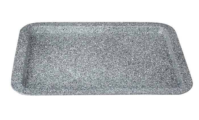 Plech na pečení s mramorovým povrchem 38x27cm