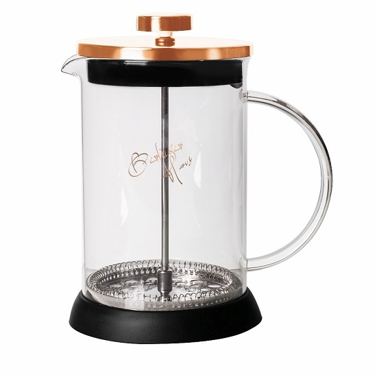 Konvička na čaj a kávu French Press 800 ml Rosegold Metallic Line
