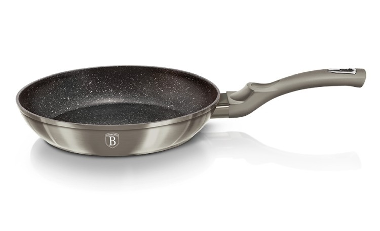 Pánev s mramorovým povrchem 26 cm Carbon Metallic Line BERLINGERHAUS BH-1833