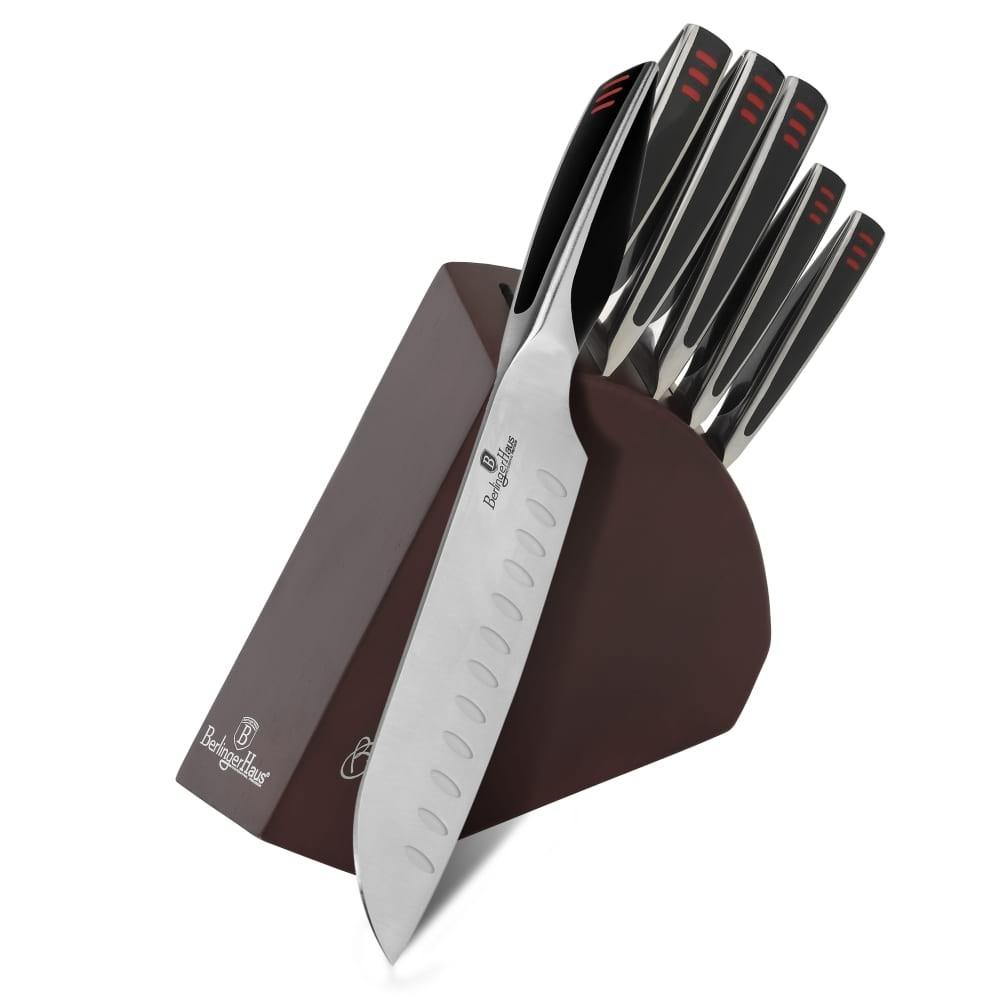 Sada nožů v dřevěném stojanu 6 ks Phantom Line