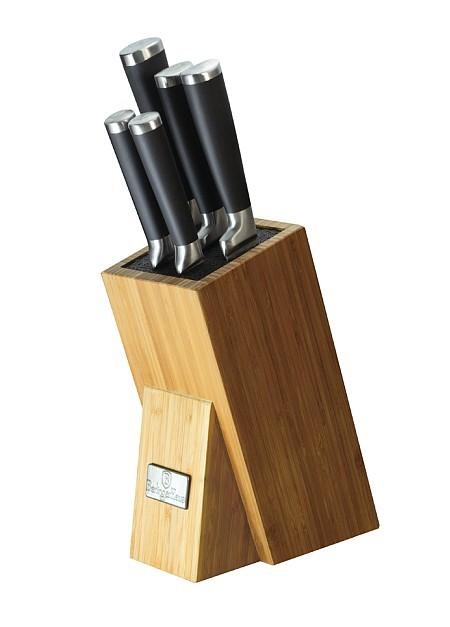 Sada nožů ve stojanu 7 ks Royal Black Collection BERLINGERHAUS BH-2425