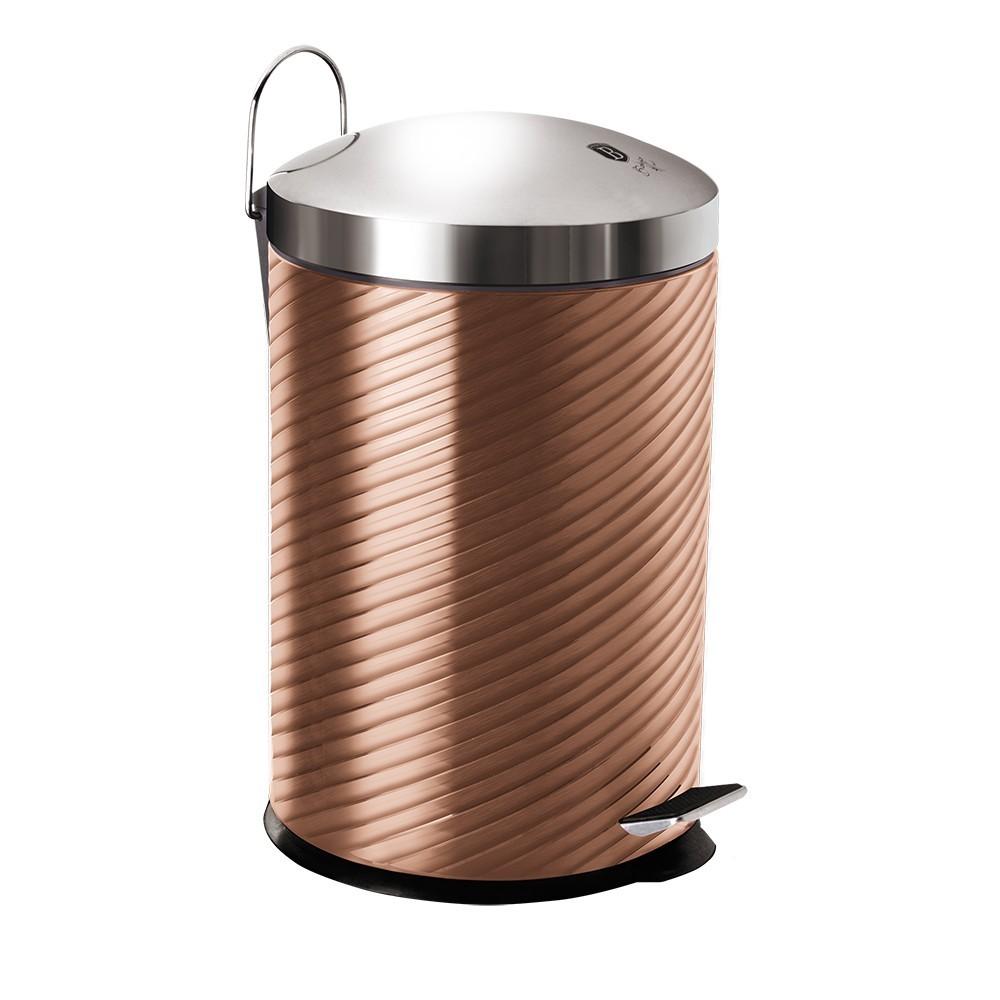 Koš odpadkový nerez 20 l Rosegold Metallic Line