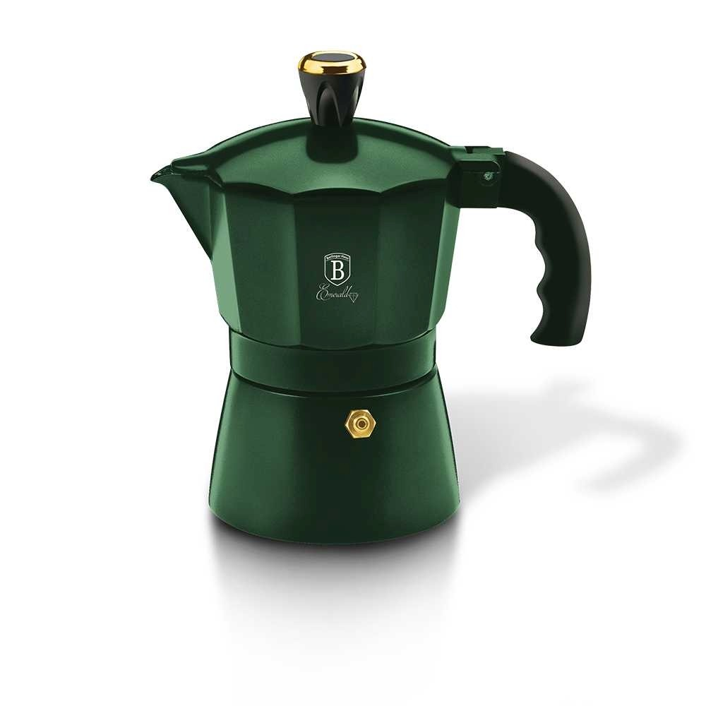 Konvice na espresso 3 šálky Emerald Collection BERLINGERHAUS BH-6385