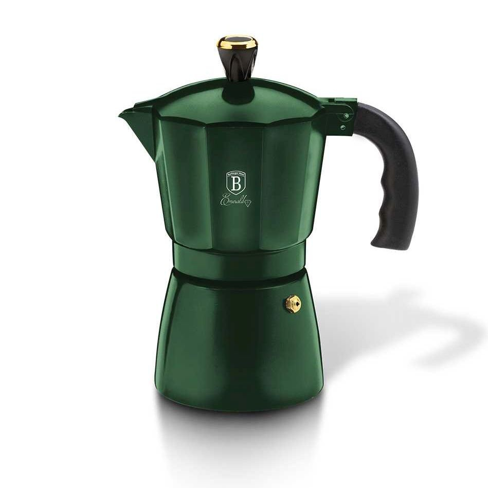 Konvice na espresso 6 šálků Emerald Collection BERLINGERHAUS BH-6386