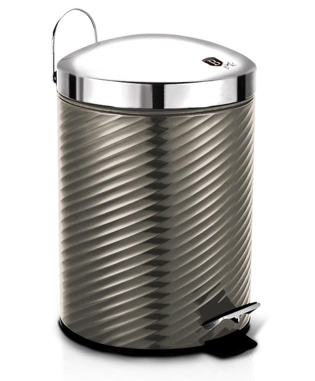 Koš odpadkový nerez 12 l Carbon Metallic Line