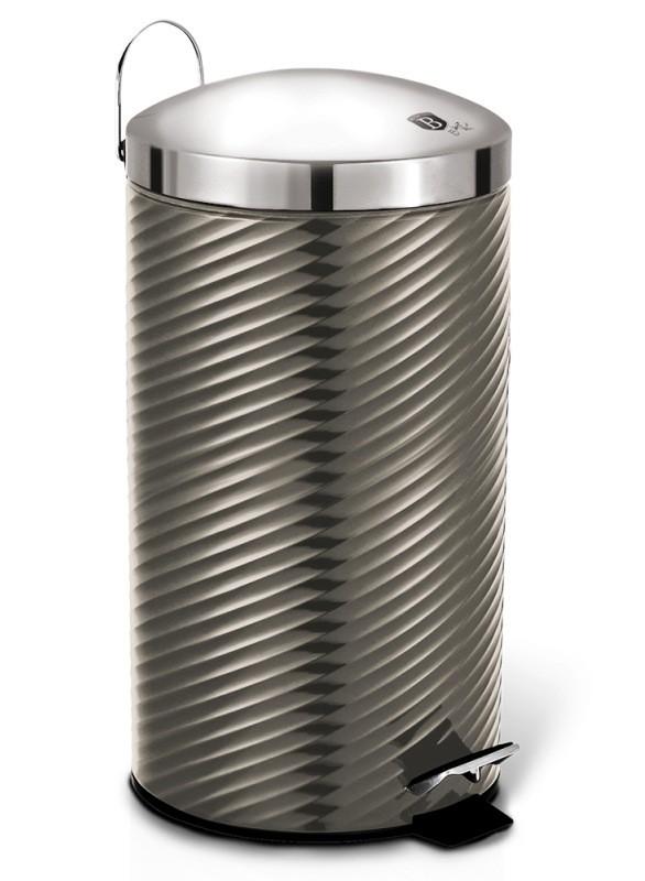 Koš odpadkový nerez 20 l Carbon Metallic Line