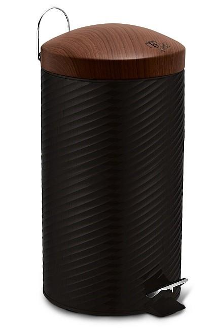 Koš odpadkový nerez 20 l Ebony Line Rosewood BERLINGERHAUS BH-6451
