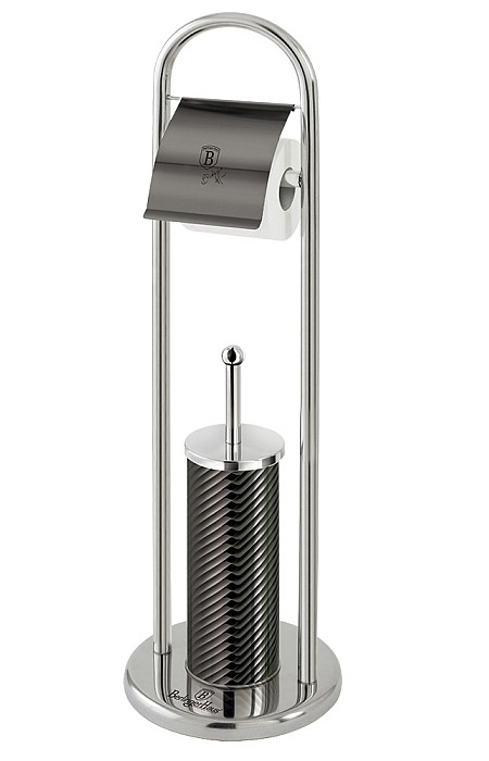 WC sada nerez Carbon Metallic Line 80 cm BERLINGERHAUS BH-6550