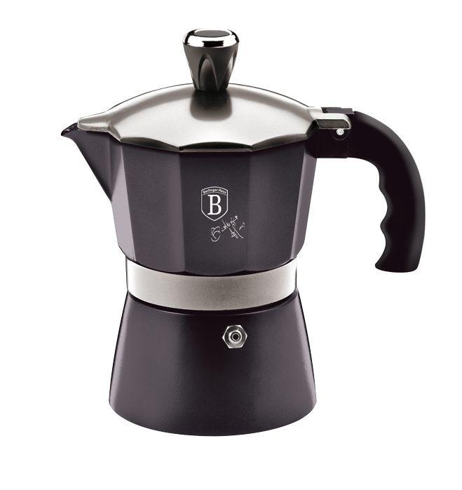 Konvice na espresso 3 šálky Carbon PRO Collection