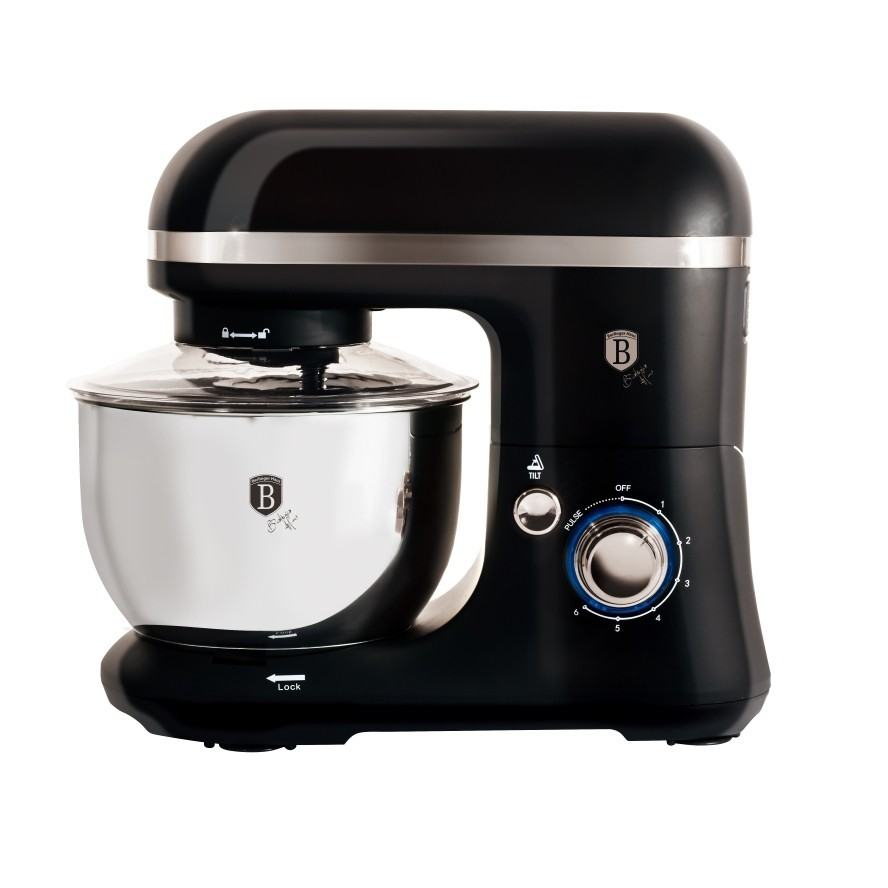 Kuchyňský robot 600 W Black Silver Collection BERLINGERHAUS BH-9031
