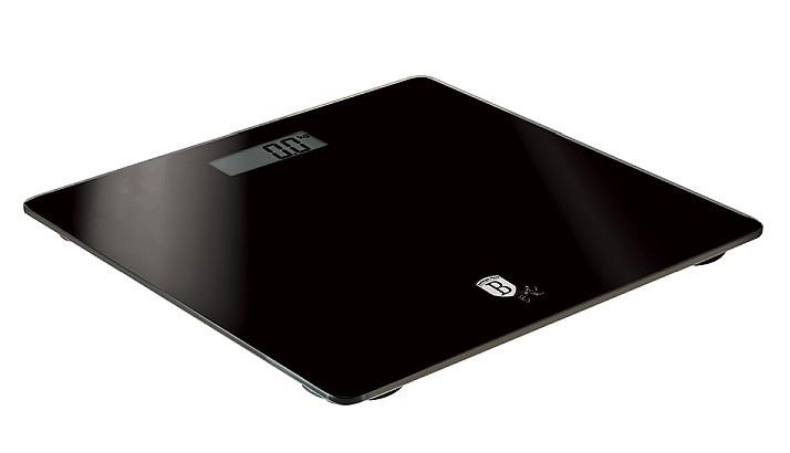 Váha osobní digitální 150 kg Black Silver Collection