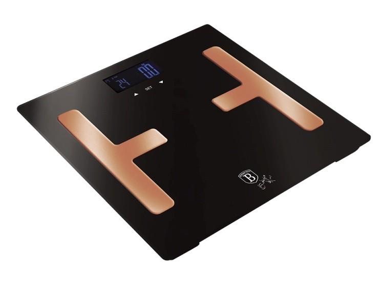 Osobní váha Smart s tělesnou analýzou 150 kg Black Rose Collection