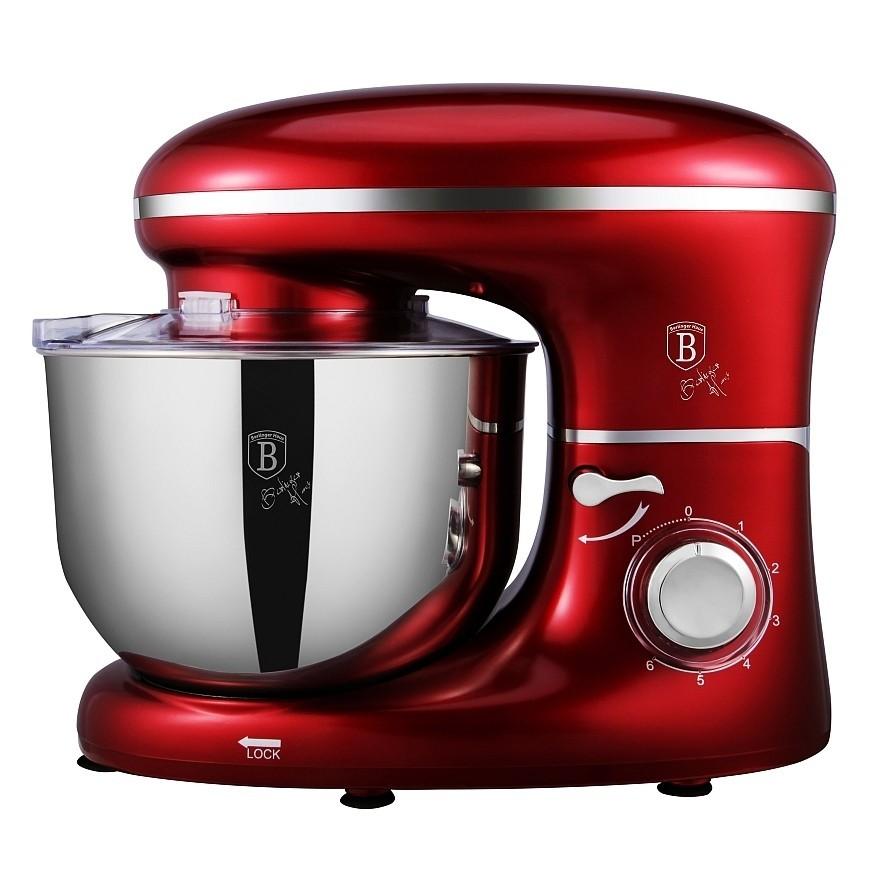 Kuchyňský robot 1300 W Burgundy Metallic Line