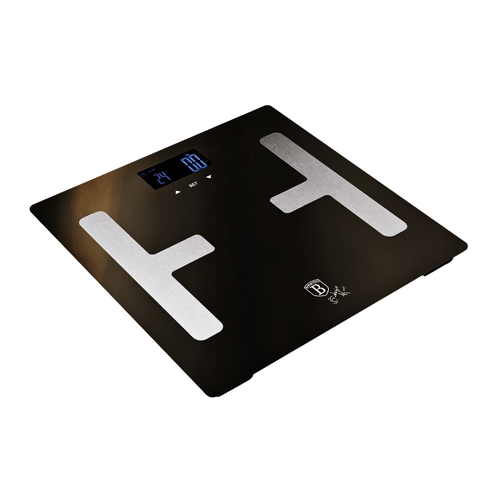 Osobní váha Smart s tělesnou analýzou 150 kg Shiny Black Collection