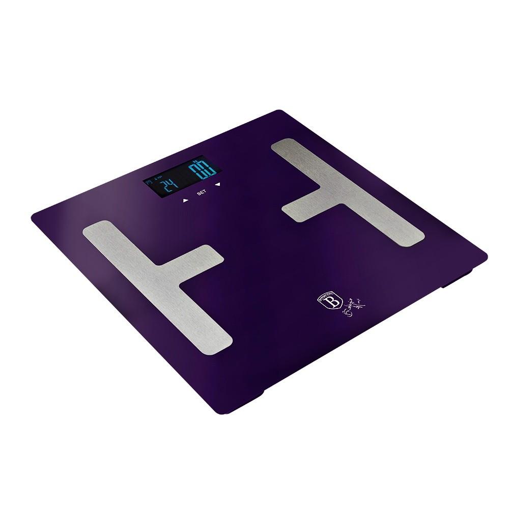 Osobní váha Smart s tělesnou analýzou 150 kg Purple Metallic Line