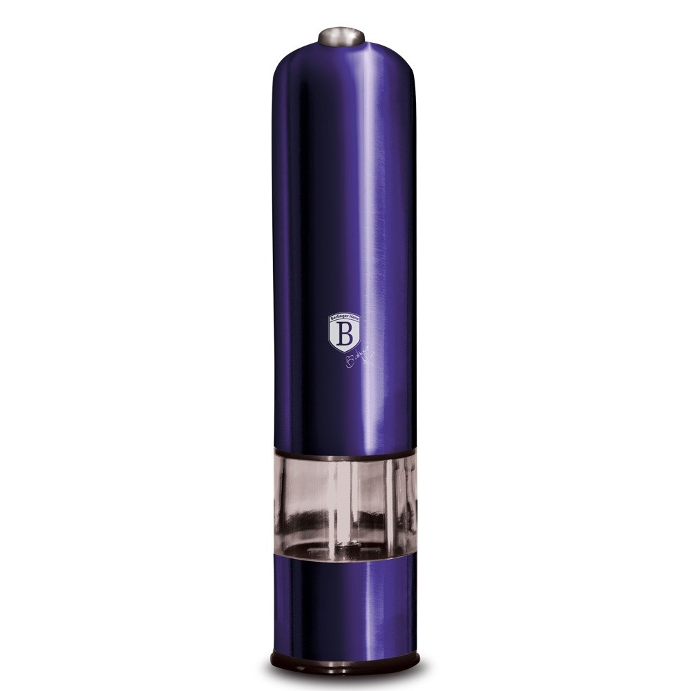 Mlýnek na pepř a sůl elektrický Purple Metallic Line