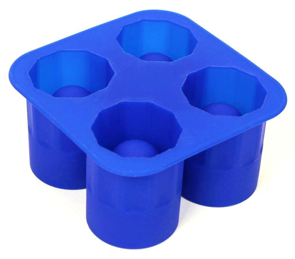 Silikonová forma na ledové skleničky ICE SHOT 4 ks