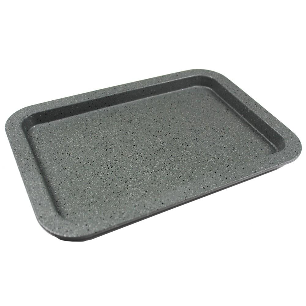 Plech na pečení 33x23x2 cm Gray Granit