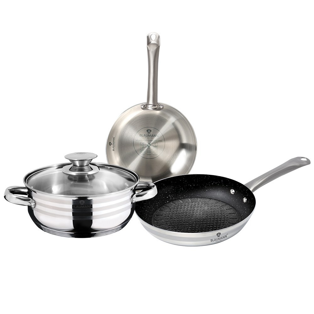 Sada nádobí 4ks s nepřilnavým povrchem XYLAN Gourmet Line BLAUMANN BL-3179