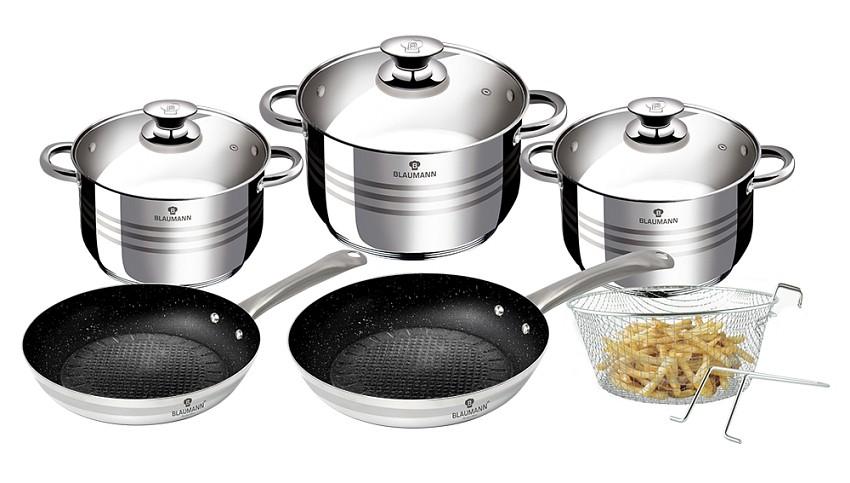 Sada nádobí nerez 10 ks Gourmet Line BLAUMANN BL-3243