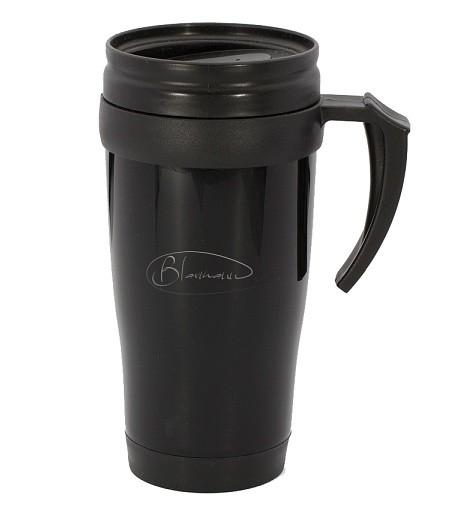 Termohrnek nerez / plast 400 ml černý