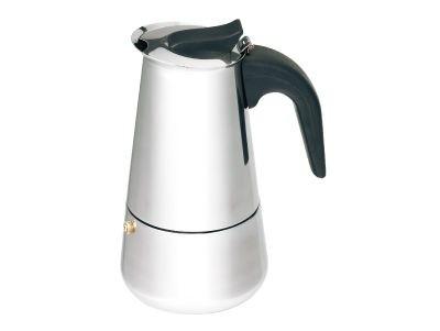Konvice na espresso nerez, 9 šálků BERGNER BG-2896