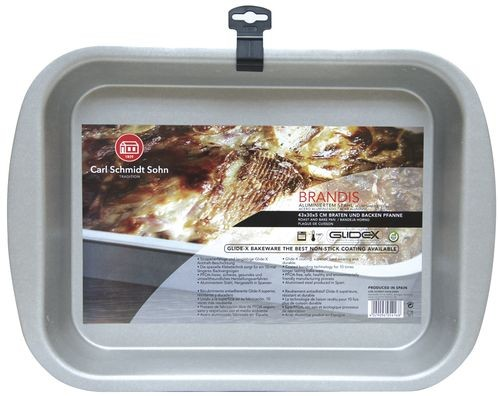 Plech na pečení BRANDIS, 43x30x5 cm CS SOLINGEN CS-054168