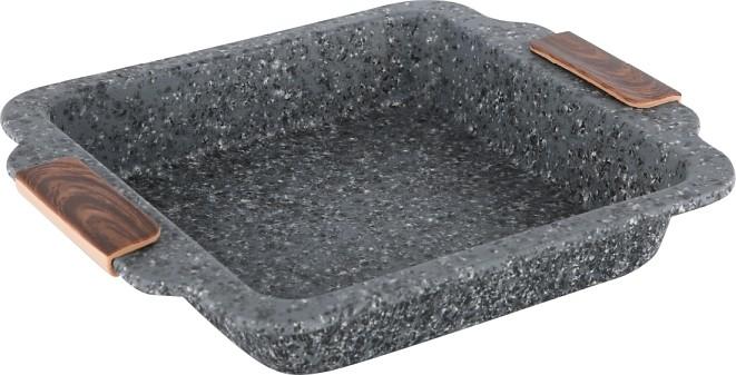 Plech hluboký s mramorovým povrchem Steinfurt 27x23cm CS Solingen CS-064174