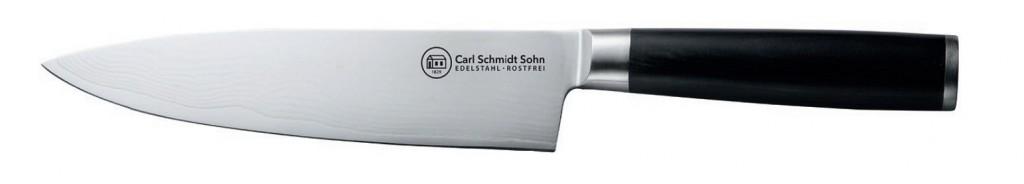 Nůž kuchařský damascénská nerezová ocel 20 cm KONSTANZ CS Solingen CS-071196