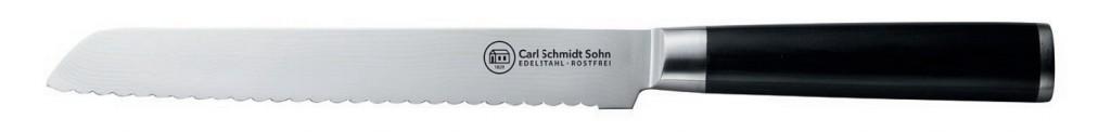 Nůž na pečivo damascénská nerezová ocel 20 cm KONSTANZ CS Solingen CS-071226
