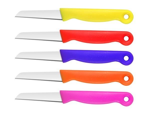 Nůž kuchyňský - sada 5 ks SILVANO barevné CS SOLINGEN CS-036393