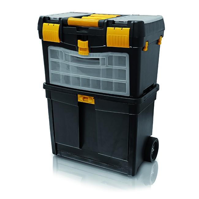 Box na nářadí pojízdný s organizérem ERBA ER-02173