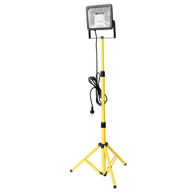 LED světlo pracovní s teleskopickým stojanem 56 LED 50W ERBA ER-25094