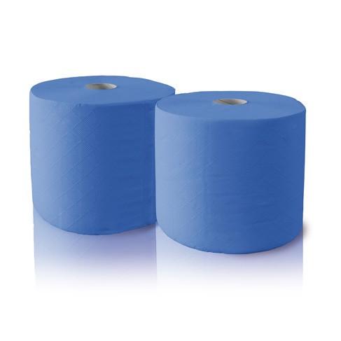 Čistící papír 2 role, modré