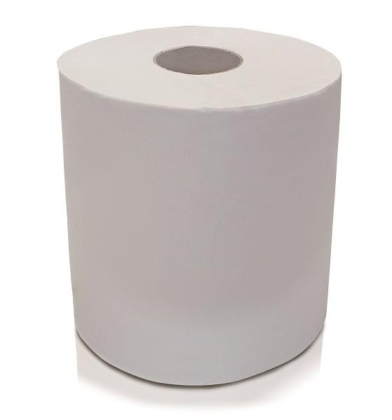 Čístící papír bílý role 223 mm ERBA ER-56044