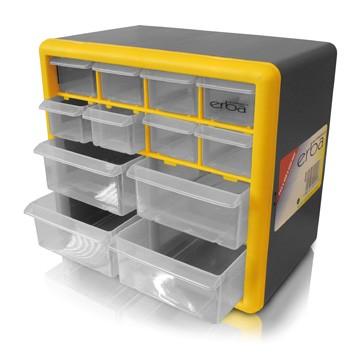 Box na součástky 12 šuplíků ERBA ER-02441