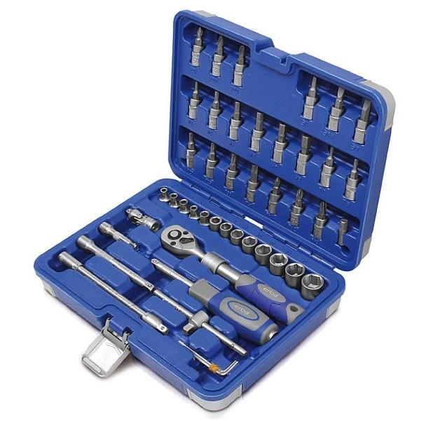 Sada nástrčných klíčů profi 46 ks ERBA ER-03144