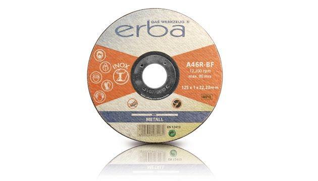 Kotouč řezný INOX - 5 ks - 125x1,0x22,2  mm ERBA ER-07206