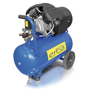 Kompresor olejový 400/50 dvoupístový ERBA ER-17012