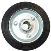 Kolo gumové černé 85 mm / 12,5 mm / 60 kg ERBA ER-33140