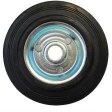 Kolo gumové černé 125 mm / 15,5 mm / 110 kg ERBA ER-33142
