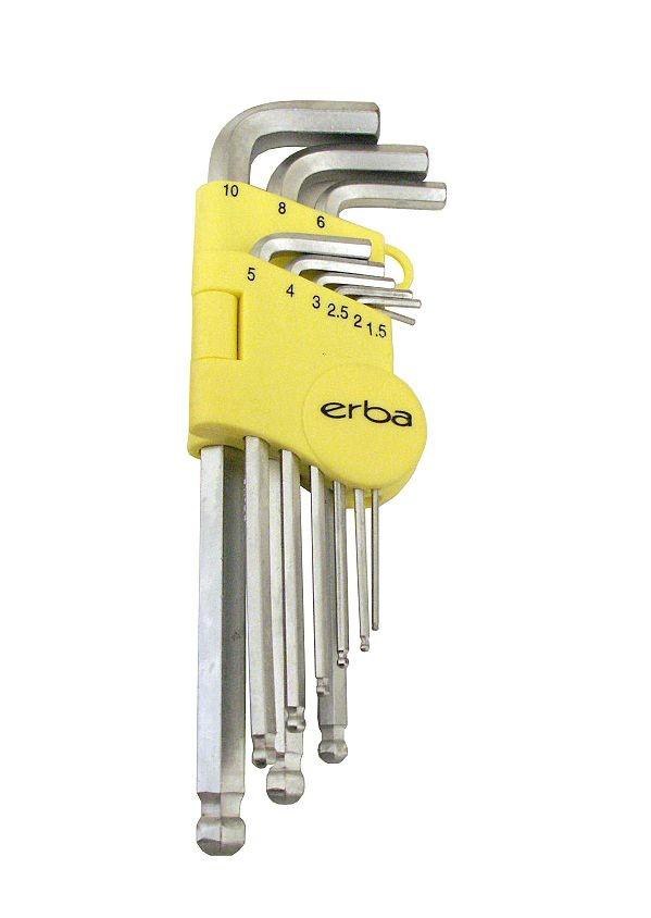 Imbusový klíč 9 ks