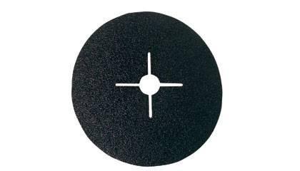 Brusný disk vulkánfíbrový na kov a dřevo 180 mm K100