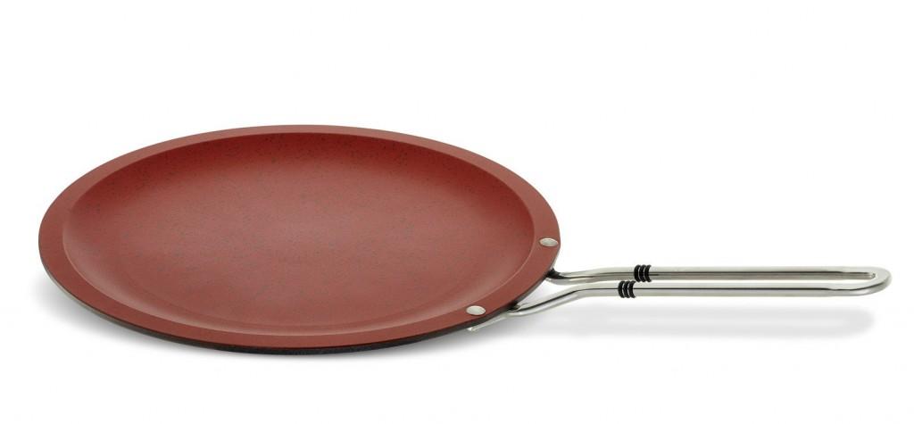 Pánev na palačinky s nepřilnavým povrchem Senso Red 28 cm Fissler FS-5638320100