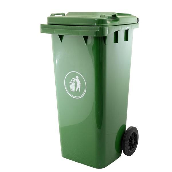 Popelnice plastová 240 litrů GA-240, tmavě zelená