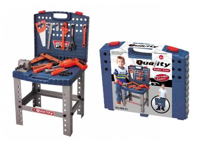 Dětské nářadí kufřík a pracovní stůl